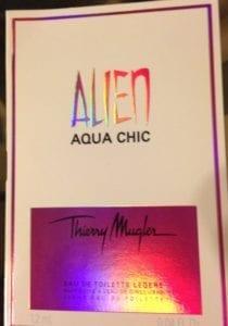 alien aqua chic