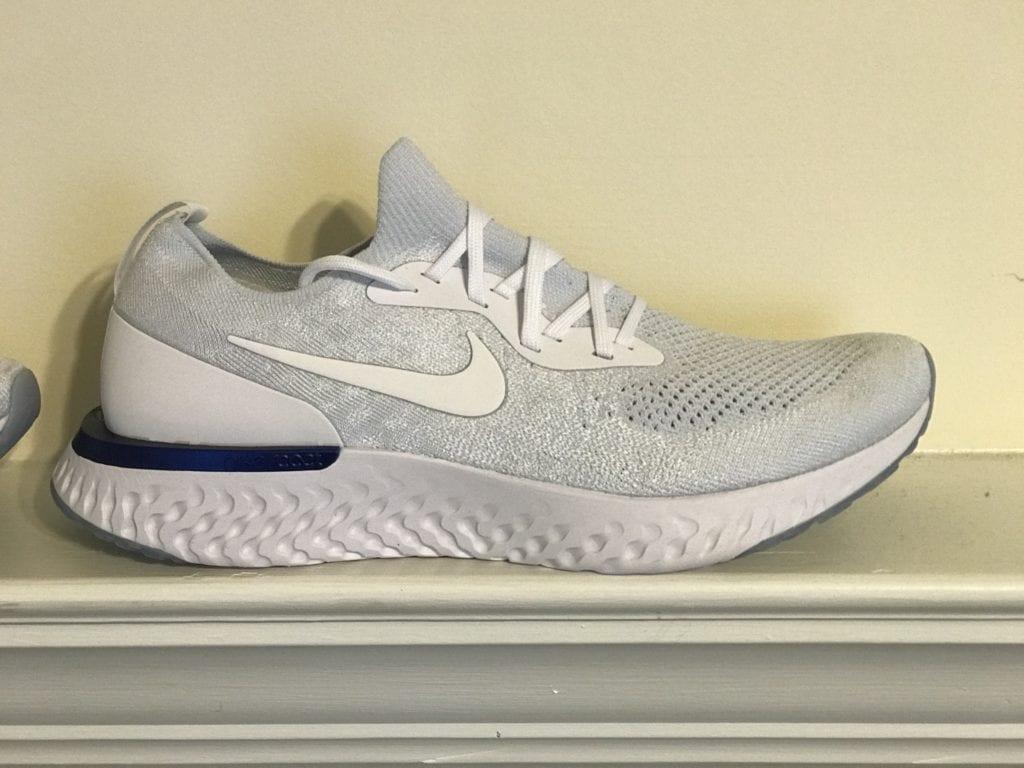 4419726eb977 Nike Epic React Flyknit Exclusive  White Fusion  Colorway ...